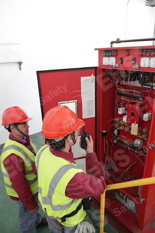 消防内燃机泵维护